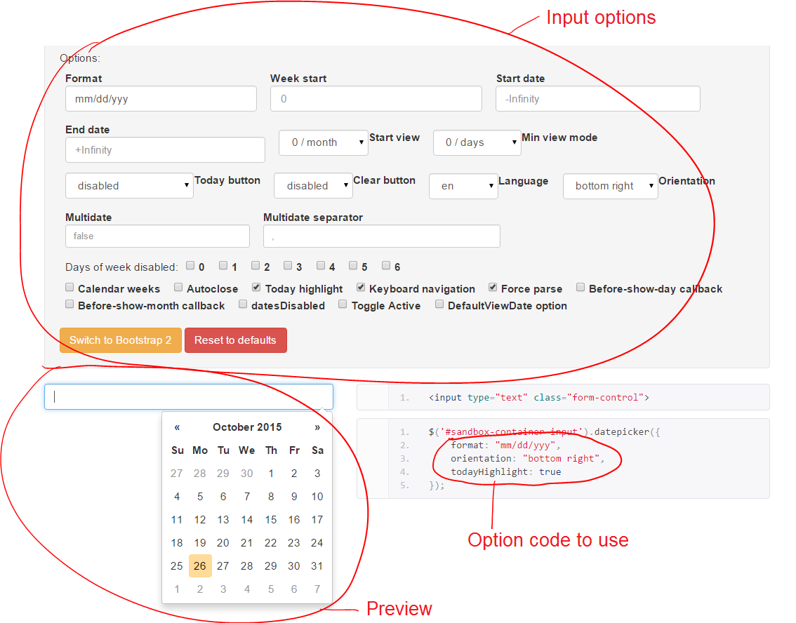 Tutorial: Add a Date Picker to a Bootstrap Form | Formden com